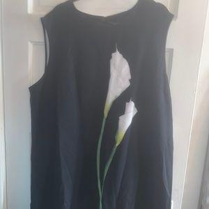NWT - Victoria Beckham Calla Lily Dress